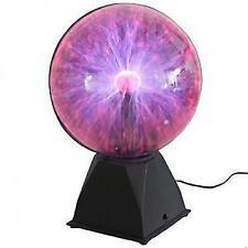 Plasma Ball Lamp Lighting Party Crystal Touch Sensitive Disco Globe 12 inch