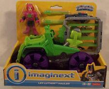 DC Super Friends By Imaginext - Lex Luthor Hauler Kryptonite Cage Missiles MISP