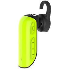 Auricolare Bluetooth Headset Roman R550 4.1 Wireless Musica Chiamate Verde hsb