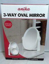 Miroirs art déco ovales pour la décoration intérieure