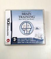 Nintendo DS Dr Kawashimas Brain Training Puzzles Sudoku Memory Exercises