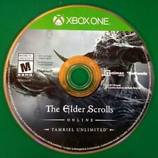The Elder Scrolls Online: Tamriel Unlimited ( Xbox One, 2015) Disc Only 14314