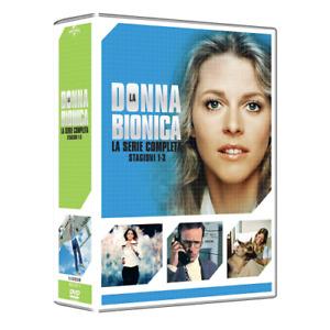 Donna Bionica (La) - Collezione Completa Stagioni 01-03 (16 Dvd) [Dvd Nuovo]