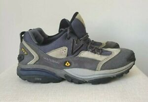 Vasque Gore-tex XCR Woman's Hiking Shoes Size 8 Stealth Gray leather 7335