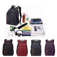 1PC 15'' Waterproof Nylon Men Women Laptop Backpack Sleeve Bag Notebook Rucksack