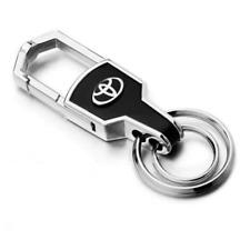 Toyota - Key Chain - Key Ring - Metal Alloy - Silver