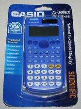 Casio fx-300ES PLUS-BU Scientific Calculator - Blue - *new*