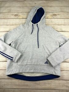 Boys Youth Large Adidas Sweatshirt Blue purple hoodie 14-16