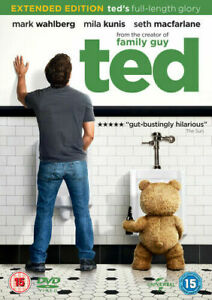 TED ( EXTENDED EDITION) - DVD - NEW SEALED**FREE POST**