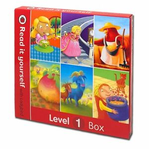 Read it Yourself with Ladybird 6 Books Box Set Level 1