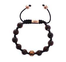 Armbänder im Shamballa Stil mit Granat Edelsteine