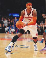 CARMELO ANTHONY - New York Knicks 8x10 photo signed