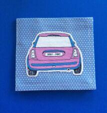 Blue Badge Disabled Parking Holder +Timer Clock ~ Appliqué Car 🚘 Hologram Safe