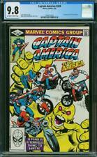 Captain America #269 CGC 9.8 Marvel 1982 1st Team America! Avengers! L10 218 cm