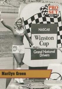 #L6 Marilyn Green - Miss Winston - 1991 Pro Set - Legends Racing