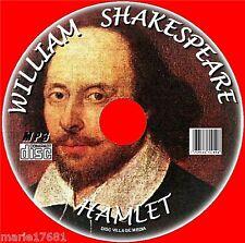 Hamlet Clásico William Shakespeare Literature audiolibro NUEVO MP3 dramatised