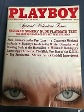 Playboy Magazine February 1980 Suzanne Somers Sandra Cagle CANDACE COLLINS