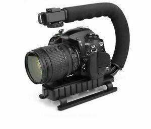 Handheld Stabilizer C Shaped Holder Grip Video for DSLR Nikon Canon Sony Camera