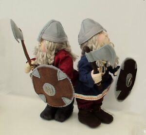 "Halvard viking cloth doll sewing pattern. Standing 10""  character doll"