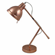 Desk Lamp Stylish Metal Arms With A Metal Shade Copper IT301