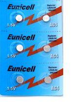 EUNICELL 6 Piles AG4 LR626 LR626SW 377A SR 626 SR377 G4