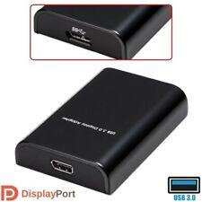 USB 3.0 Super Speed to Display Port DP Adapter Converter Monitor 1080p MacBook