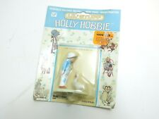 VINTAGE NEW HOLLY HOBBIE DOLL HOUSE MINIATURE METAL BOY WITH 2 DUCKS DIECAST
