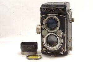 @ Ship in 24 Hrs@ Discount @ Olympus Flex B-II f2.8 6x6 Medium Format TLR Camera