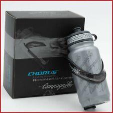Nuevo viejo stock CAMPAGNOLO CHORUS compuesto de carbono Botella de agua jaula Portador Ligero Nuevo