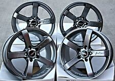 "18"" CRUIZE BLADE ALLOY GLOSS GUNMETAL CONCAVE 5 SPOKE 5X108 18 INCH ALLOYS"