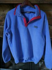 Vintage Patagonia Synchilla Snap T pullover fleece women's L