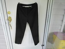 Talbot Womens Size 14 Black Stretch Dress Slacks