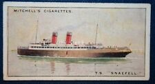 TS SNAEFELL   Isle of Man Steam Packet   Ferry    Vintage Colour Card
