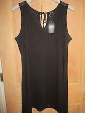 NEW✿ Portocruz Women's Plus Size 2X Swimsuit COVER UP DRESS Black