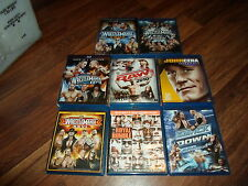 WWE Blu-ray PPV Wrestling Collection (8 total) Wrestlemania & Raw & Smackdown