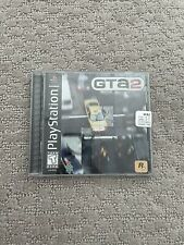 Grand Theft Auto 2 (Sony Playstation 1 Ps1) Gta2 Black Label w/ Manual Tested