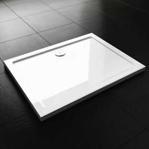 Durovin Bathrooms Rectangle Acrylic Shower Tray 800mm x 700mm