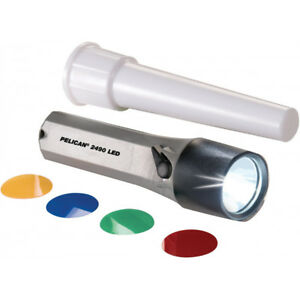 Pelican 2490 LED Torch With Traffic Wand
