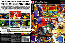 Marvel vs. Capcom Custom PS1 Playstation Case only (NO GAME)