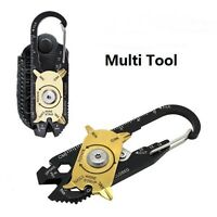 20-in-1 Pocket Multi Tools Keychain Emergency Outdoor Useful Survival Tool New