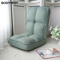 Lazy Sofa Tatami Folding Single Small Apartment Bed Fabric Backrest Balcony