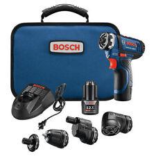 Bosch GSR12V140FCB 12-Volt Max FlexiClick 5-In-1 Drill/Driver System New