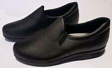 SAS Womens Patriot SR Black Size 10, Tripad Comfort Made in USA, Slip Resistant