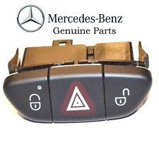 Mercedes Benz Switch hazard assembly, black BRAND NEW GENUINE 230 821 34 51 9116