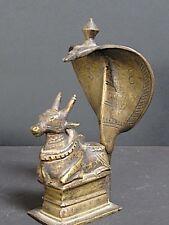 Vieux Nandi en Bronze INDE