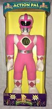 """MMPR Power Rangers Pink Kimberly Action Pal 18"""" Plush  Never Out Of Box RARE"""