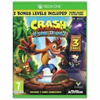 Crash Bandicoot N Sane Trilogy Xbox One New & Sealed Region Free