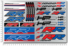 S1000RR motorcycle stickers decals bmw motorsport s1000 RR motorrad Hp4 Racing