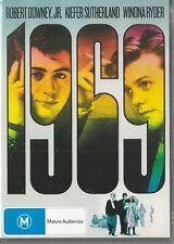 1969 - ROBERT DOWNEY JR + KIEFER SUTHERLAND + WINONA RYDER - NEW & SEALED DVD