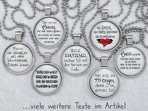 Spruchkette by Perletta 40 Texte rund um Schutzengel Glücksengel Engel Teufel